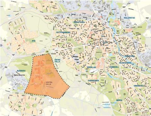 LinköpingsBo2016 placeras i Västra Valla