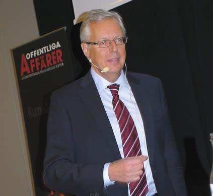Mats Odell på Upphandlingsdagarna
