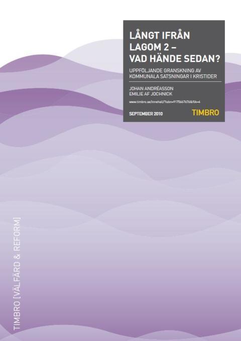 Ny Timbro-granskning visar: Sandviken prioriterar badhus framför fler lärare i skolan