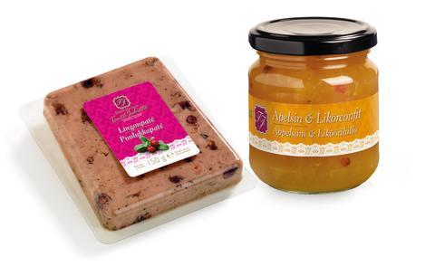 Lingonpaté och Apelsin & Likörkonfit
