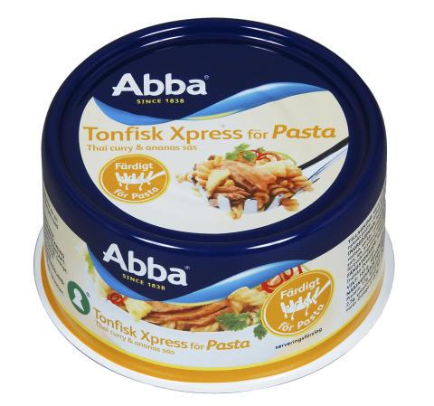 Abba Tonfisk Xpress pasta - Thaicurry & ananassås