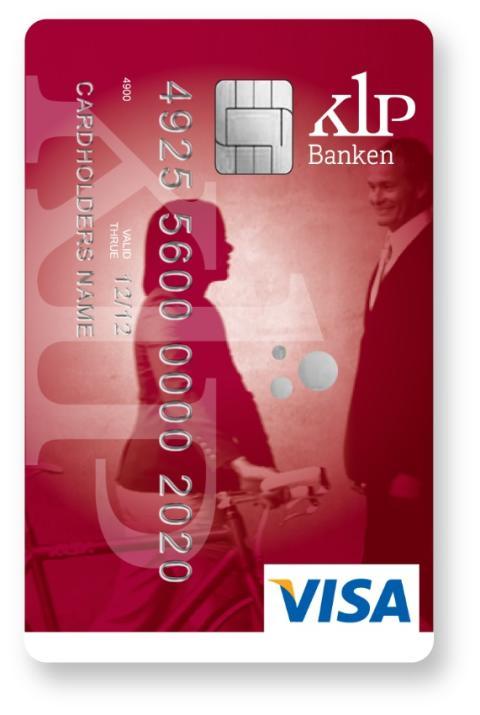 KLP Banken VISA-kort