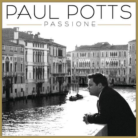 "Paul Potts - albumkonvolut ""Passione"""