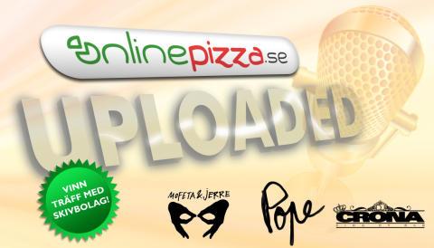 OnlinePizza startar musiktävling med Mofeta&Jerre och Pope Records