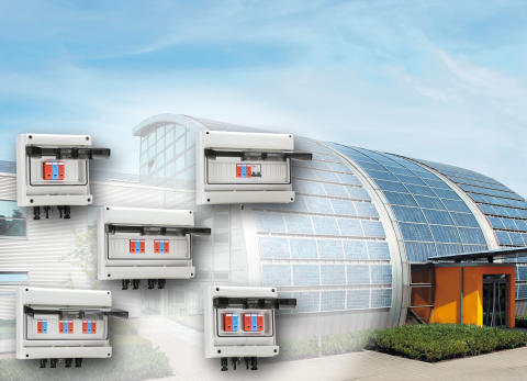 Weidmüllers överspänningsskydd för solcellsystem