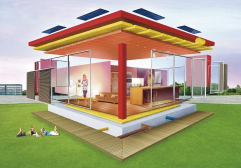 Hållbart Byggande - hus