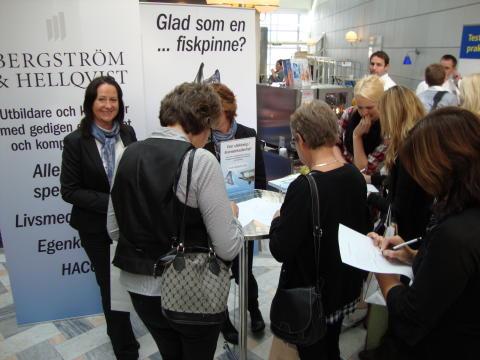 Vinnaren av en halvdagsutbildning är Bäckedals Folkhögskola