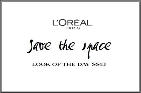 "SAVE THE SPACE FOR ANOTHER ""LOOK OF THE DAY"""