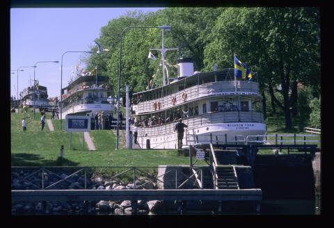 Gøta kanal - Wilhelm Tham i Bergs sluser