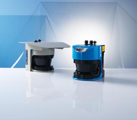 LMS500 - ny mätande laserscanner för industri och bevakning