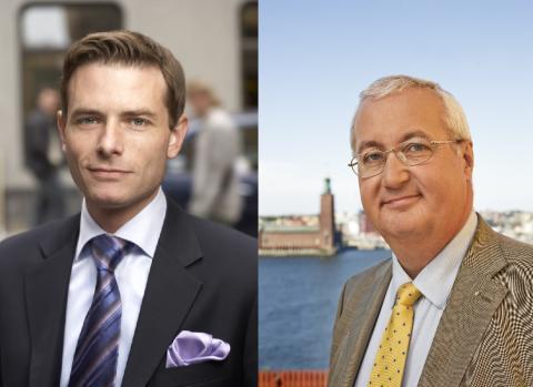 Nordin/Larsson (M): Utbyggd tunnelbana kan öppna för 100 000 bostäder