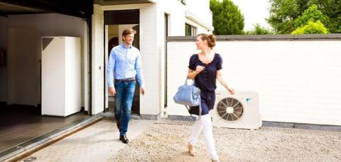 Nya Daikin Altherma luft/vatten värmepump med högsta effektivitet och komfort