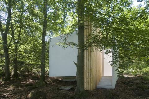 Refugium på Kivic Art Centre; arkitekt Petra Gipp; Foto: Gerry Johansson