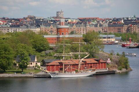 Tre Kronor af Stockholm vid Kolskjulet