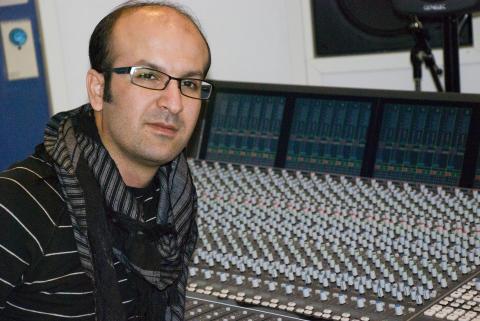Karzan Mahmood, tonsättare och masterstudent