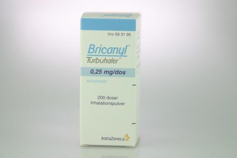 Bricanyl Turbuhaler 0,25 mg