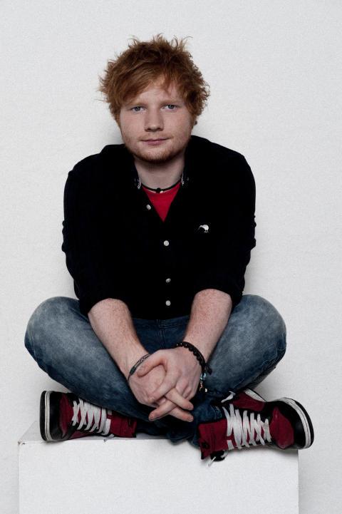 Ed Sheeran tar Sverige med storm, imorgon gör han sin första officiella Sverigespelning.