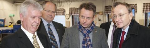 Småländsk träindustri intressant för Tyskland