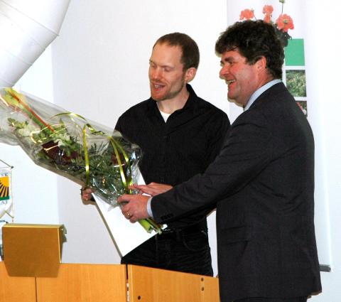Mäster Gröns stipendium 2009 har tilldelats Martin Bergstrand.