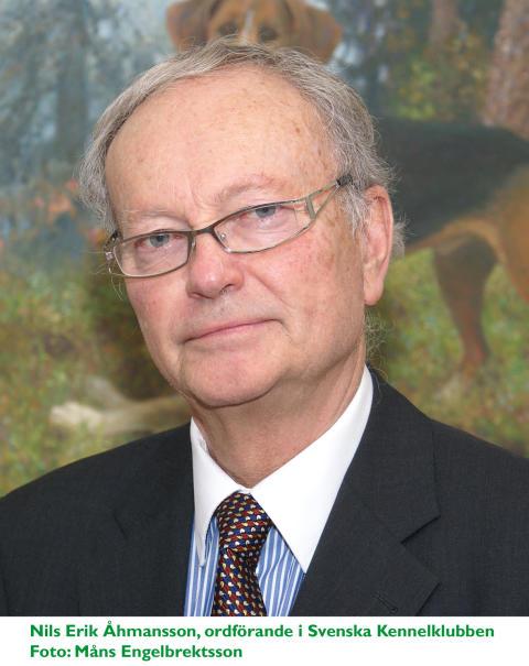 Nils Erik Åhmansson, SKKs f.d. ordförande (1993–2015)