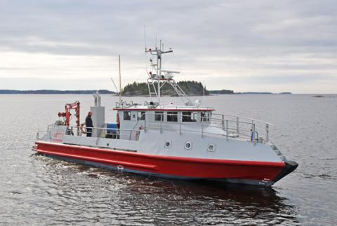 Forskningsfartyget R/V Lotty gästar Örnsköldsvik vid Naturvetenskapens dagar