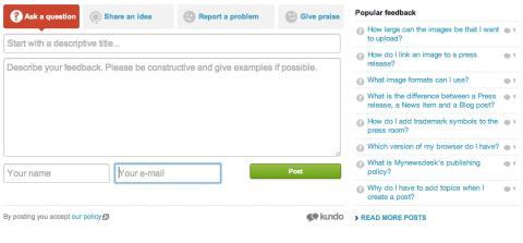 Mynewsdesk lanseeraa self help-foorumin