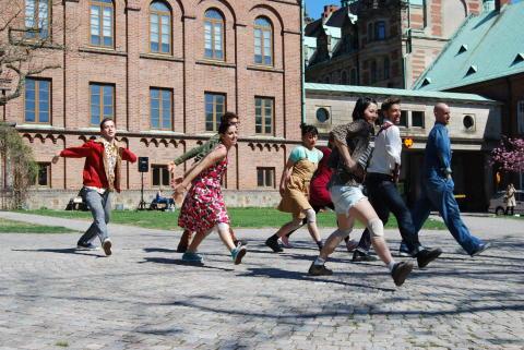 Skånes Dansteater firar Dansens Dag