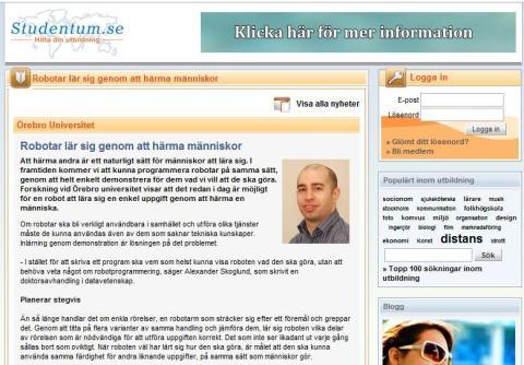 Nordens ledande söktjänst för utbildning väljer Newsdesk