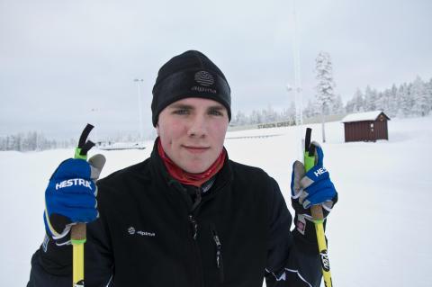 Fredrik Karlsson elektriker och elitskidskytt