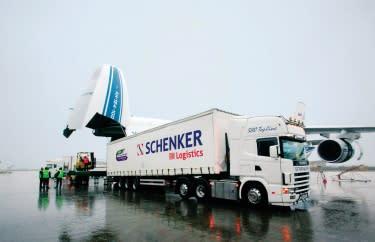 Dalkia tecknar avtal med Schenker Logistic