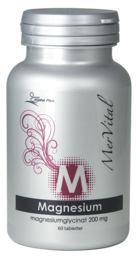 Pressmeddelande Magnesium Mervital