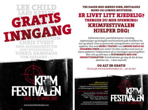 Krimfestivalen 1.-3. mars 2012