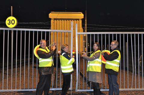 Elektrifieringen av Nykvarns bränsleterminal invigd