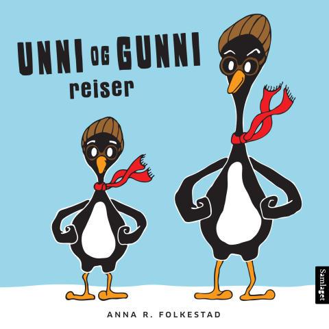 Unni og Gunni - ny sprelsk peikebokserie for dei minste