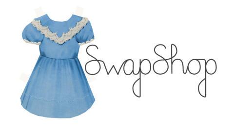 Klädbyte och vintagevisningar på SwapShop på Tekniska museet