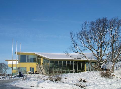 Hogias huvudkontor på Hakenäs, Stenungsund