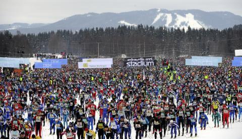 Vasaloppets Vintervecka toppar listan över populära event