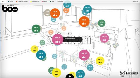LinköpingsBo2016 lanserar ny webb för dialog och delaktighet