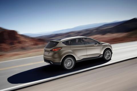 Ford visar koncept på ny global SUV på Detroit Motorshow 2011 - Ford Vertrek, bild 2