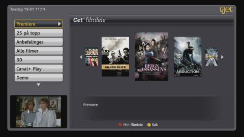 Rekord for Get Filmleie - «Hodejegerne» og «Hangover 2» de mest sette filmene i 2011