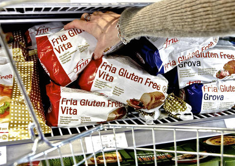 UK DEMAND FOR FRIA'S GLUTEN-FREE PRODUCTS