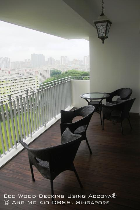 Eco Wood Decking in Singapore