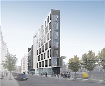 Byggstart för kontor och bostäder vid Norra Bantorget