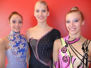 Förstaårssenioren 'Nastja' Johansson från Stockholm till Winners Final i rytmisk gymnastik