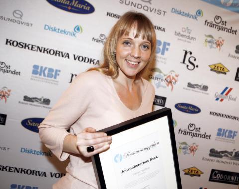 Carina Brydling är Journalisternas Kock