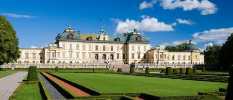 Tyvärr, ingen övernattning på Drottningholms slott