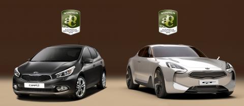 Tre designpriser till Kia!