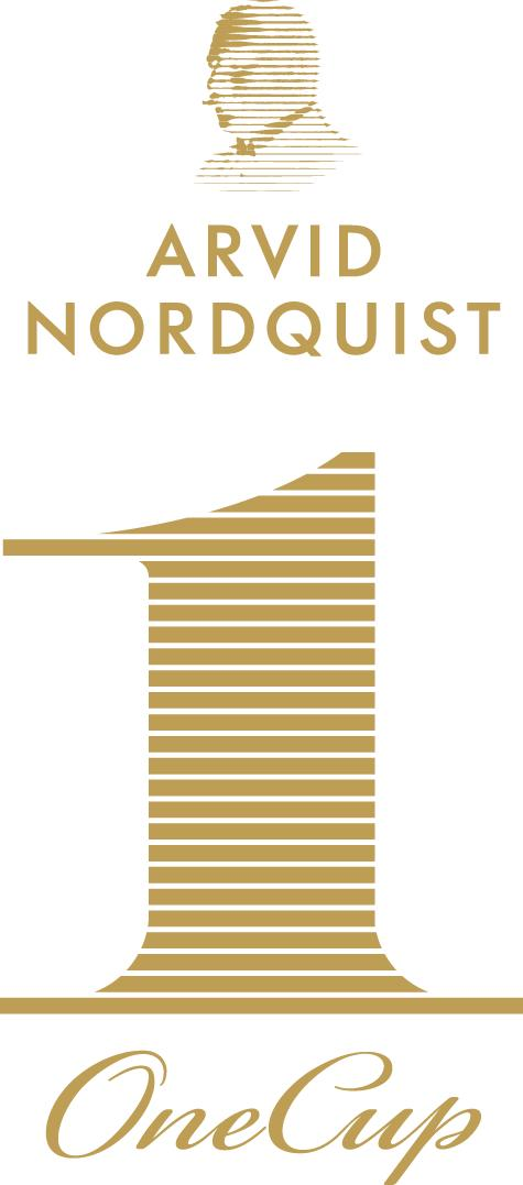 Arvid Nordquist OneCup - Logo Negativ