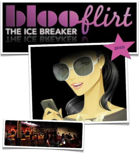 Den mobila flirtingapplikationen BlooFlirt har med framgång testats på nattklubbar!