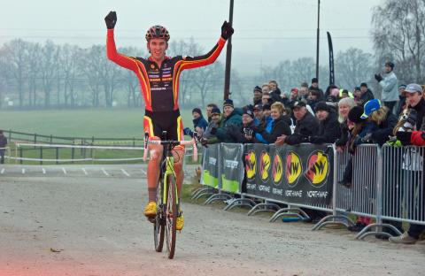 Tre nya värdiga mästare vid SM-tävlingarna i Cyclo-cross